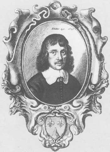 mid-17th-century portrait etching