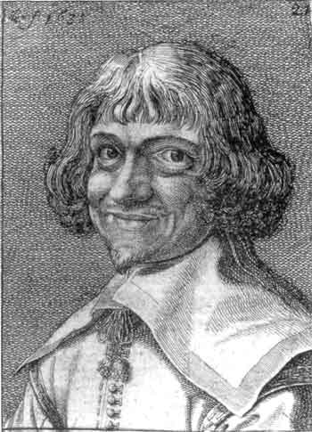 early-17th-century portrait etching