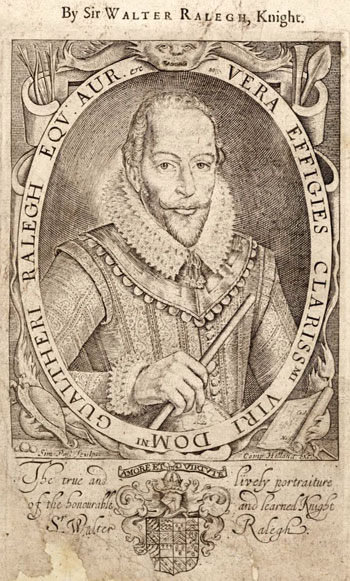 early-17th-century portrait engraving