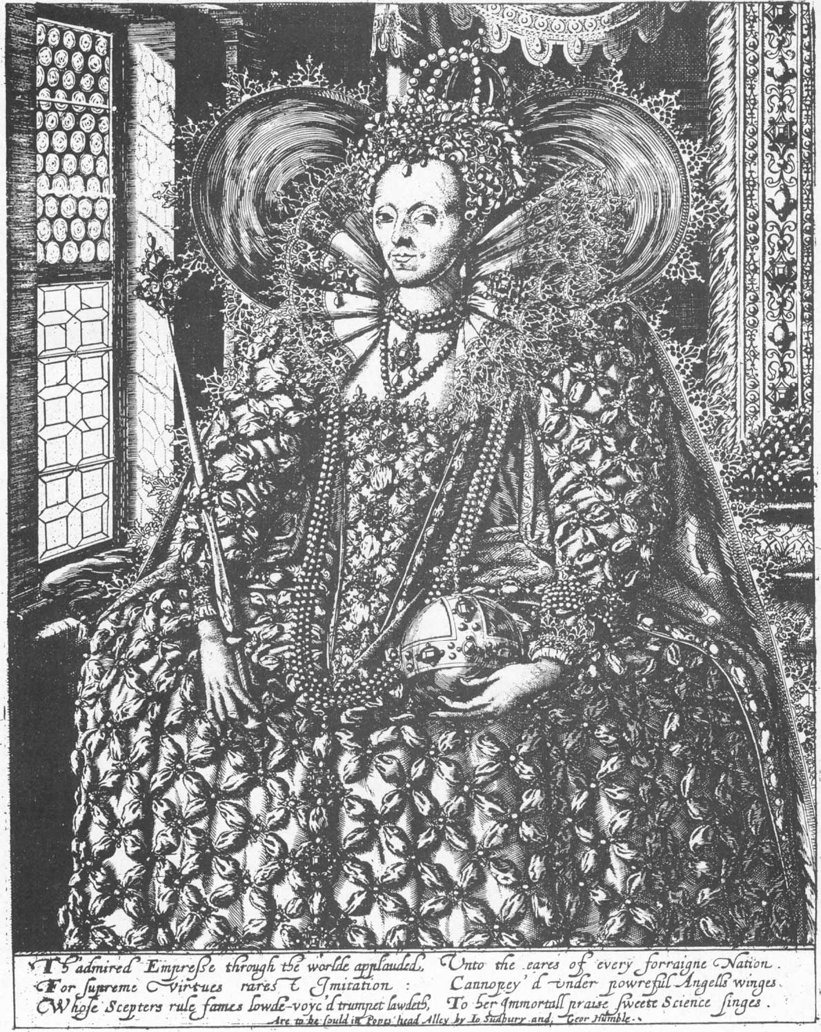 Queen Elizabeth 1 Black And White http   www she-philosopher com    Queen Elizabeth 1 Black And White